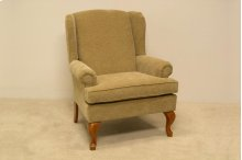 Attached Pillow Back Transitional Chair