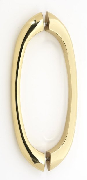 C855 Series Back-to-Back Pull G855-8 - Polished Brass