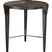 Zachary Round Lamp Table