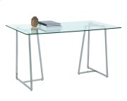 Chiswick Writing Desk - Stainless Steel Product Image