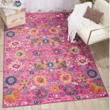 Passion Psn01 Fuchsia Rectangle Rug 1'10'' X 2'10''