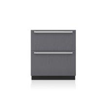 "30"" Designer Freezer Drawers with Ice Maker - Panel Ready"