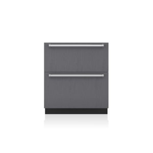 "Subzero30"" Designer Freezer Drawers with Ice Maker - Panel Ready"