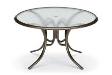 "56"" Round Dining Table w/ hole Ogee Rim"
