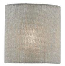 Dusk Cloud Linen Shade - 5 x 5 x 5