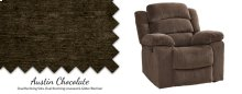 Chocolate Glider Recliner