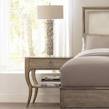 Sophie - Accent Nightstand - Natural Finish