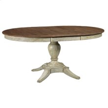 Weatherford Cornsilk Milford Round Dining Table