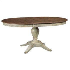Cornsilk Milford Round Dining Table