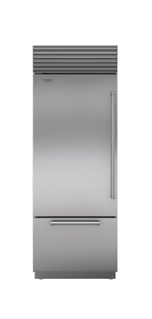 "30"" Built-In Over-and-Under Refrigerator/Freezer"