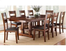 9 PIECE DINING SET (TABLE WITH 8 CHAIRS)
