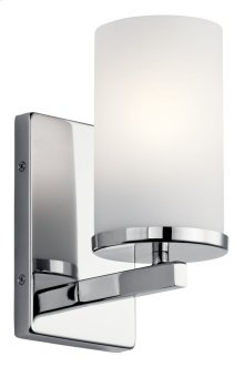 Crosby 1 Light Wall Sconce Chrome