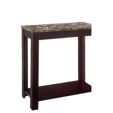 Faux Marble Chair Side Table