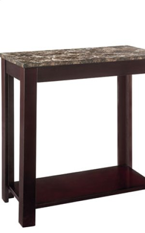 Matte Black Chair Side Table