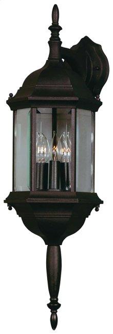 Custom Fit - 3 Light Wall Lantern