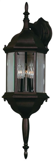 Custom Fit - 3 Light Wall Lantern