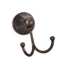 Elements Transitional Robe Hook. Finish: Brushed Oil Rubbed Bronze. Packed in White Box.