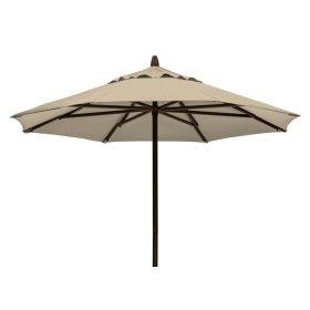 Commercial Market Umbrella 7 1/2' Powdercoat Aluminum Commercial Market Umbrella