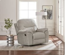 Power Taupe Rocker Recliner