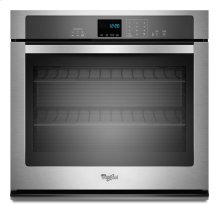 [CLEARANCE] 4.3 cu. ft. Single Wall Oven with SteamClean Option. Clearance stock is sold on a first-come, first-served basis. Please call (717)299-5641 for product condition and availability.