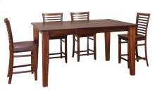"""36""""-1-20"""" Leaf Large Tapered Legs Gathering Table"""