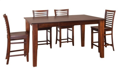 "36""-1-20"" Leaf Large Tapered Legs Gathering Table"