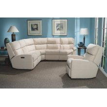 Catalina Leather Power Reclining Sectional