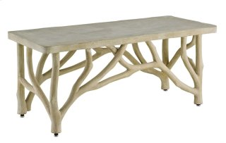 Creekside Table/Bench - 18.25h x 42w x 18d