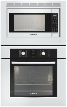 """30"""" Combination Wall Oven 500 Series White"""