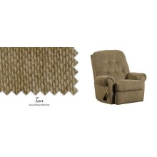 Tan Swivel Rocker/Recliner