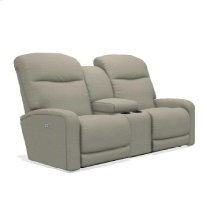 Levi Power Wall Reclining Loveseat w/ Console