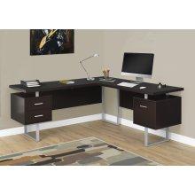 "COMPUTER DESK - 70""L / CAPPUCCINO LEFT OR RIGHT FACING"