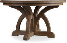 Corsica Round Dining Table w/1-18in Leaf