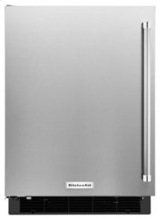 "24"" Undercounter Refrigerator with Stainless Steel Door Product Image"