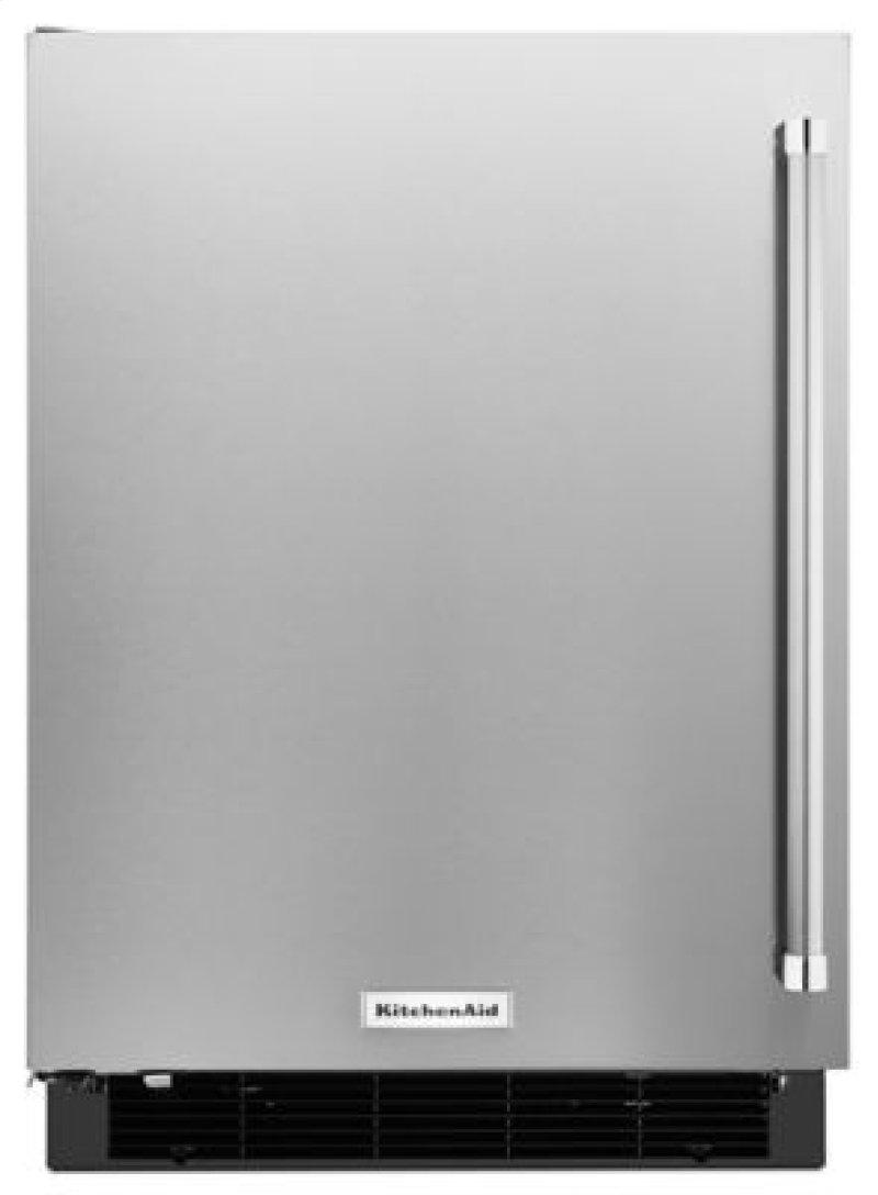 "... Diego, CA - 24"" Undercounter Refrigerator with Stainless Steel Door"