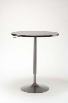 Expandable Pub Table With Grey Base