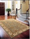 Lumiere Ki602 Slate Blue Rectangle Rug 7'9'' X 10'10''