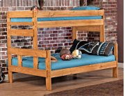 Twin/full Bunkbed - *Includes 706HB headboard and footboard, 706R rails Product Image