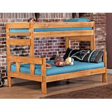 Twin/full Bunkbed - *Includes 706HB headboard and footboard, 706R rails