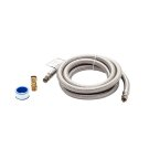 Smart Choice 6' Stainless Steel Refrigerator Waterline Kit Product Image
