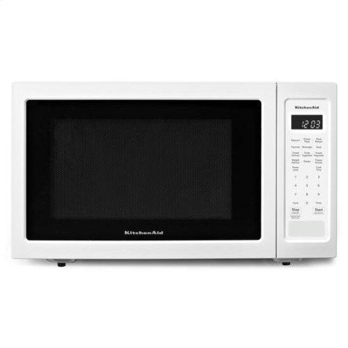 "KitchenAid® 21 3/4"" Countertop Microwave Oven - 1200 Watt - White"