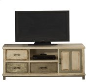 Larose Entertainment Unit - Rustic White and Gray Product Image