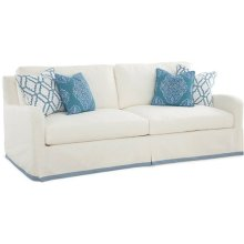 Halsey Slip Covered Sofa