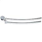 Hinged Towel Rail - Chrome Product Image