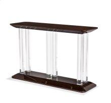 Karra Console Table - Figured Eucalyptus