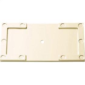 Campaign L-Bracket Backplate 3 11/16 Inch - Polished Brass