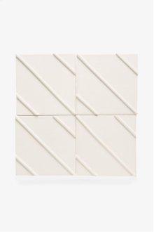 "Architectonics Handmade Odyssey Decorative Field Tile Maze Relief 6"" x 6"" STYLE: ARDF12"