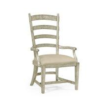 Greyd Oak Fireside Armchair (MAZO)