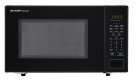 1.1 cu. ft. 1000W Sharp Countertop Black Microwave Product Image