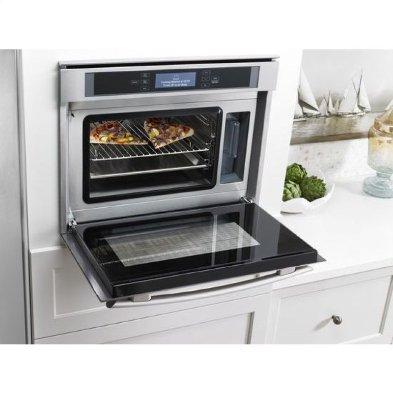 24 Inch Steam And Convection Wall Oven
